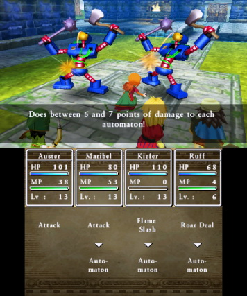 Dragon Quest VII: Fragments of the Forgotten Past обзор игры