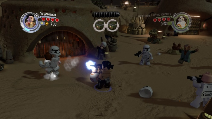 LEGO Star Wars: The Force Awakens обзор игры
