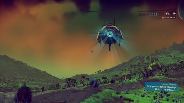 Прохождение игры (начало и первые квесты) No Man's Sky