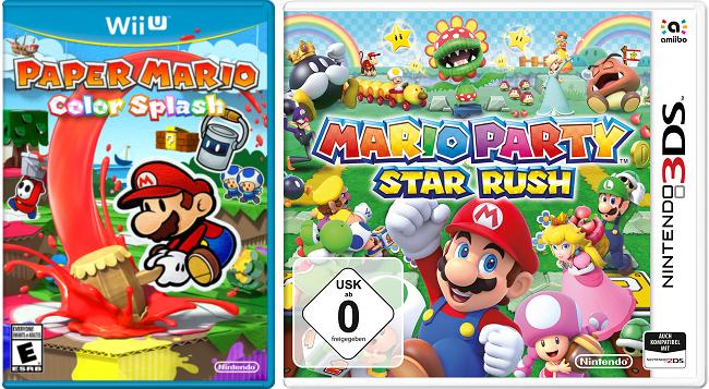 Paper Mario: Color Splash, Mario Party: Star Rush и другие — появились оценки нового номера Famitsu