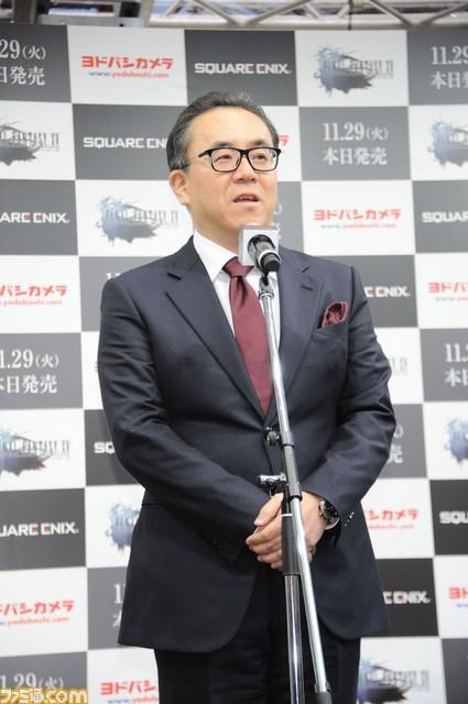 Final Fantasy XV поступила в продажу, японские пользователи выстроились в длинные очереди за игрой