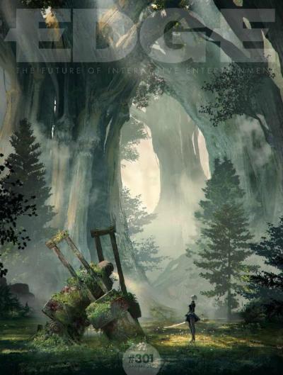 NieR: Automata украсила обложку нового номера EDGE, оглашена дата выхода демки для PlayStation 4