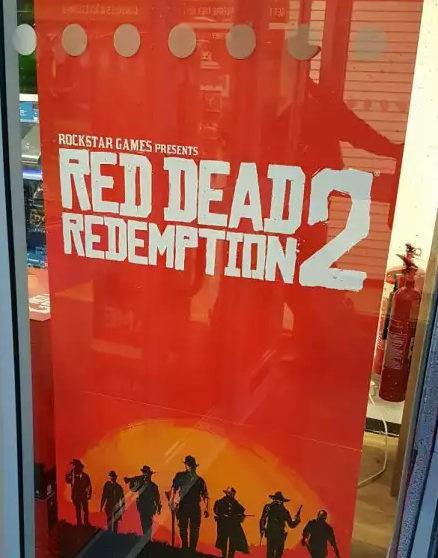 Red Dead Redemption 2 - рекламная кампания новой игры Rockstar Games официально стартовала, в магазинах появились первые промо-материалы