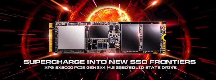 Обзор SSD-накопителя adata XPG SX8000: Для тех, кто любит скорость...