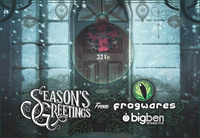 Новогодние открытки от разработчиков игр