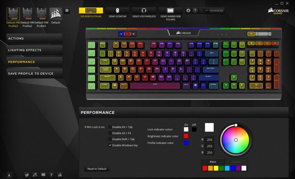 Обзор клавиатуры Corsair K95 RGB Platinum