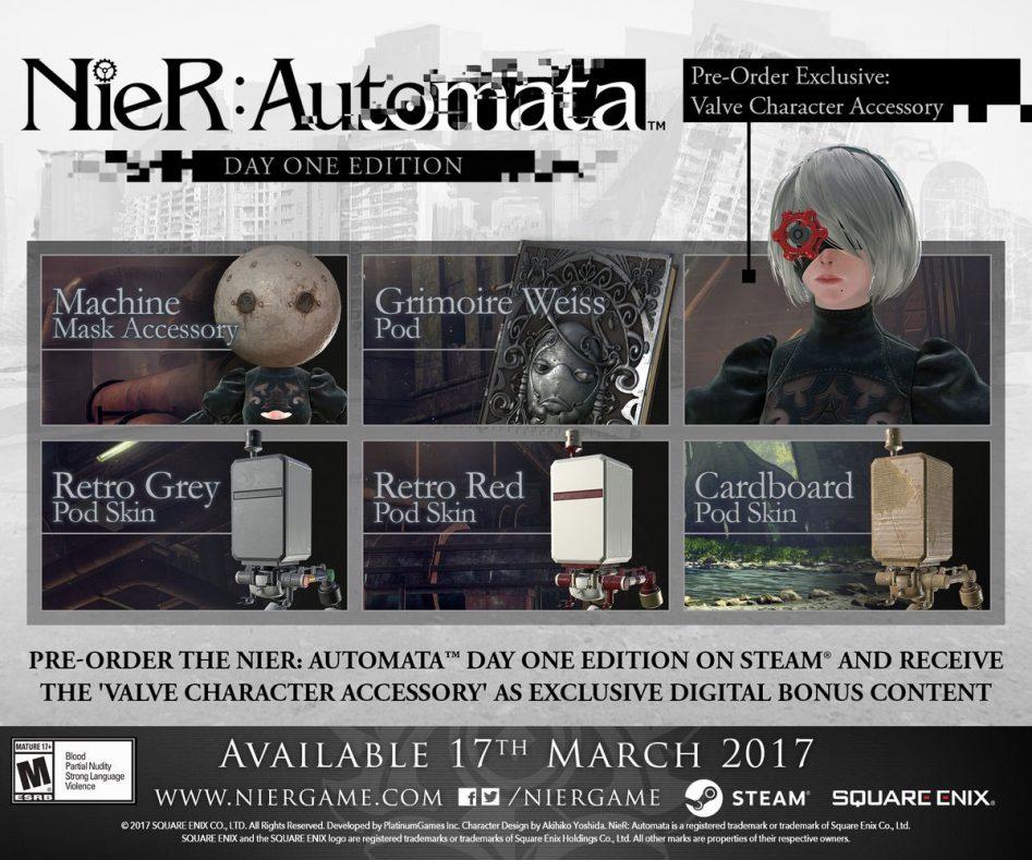 NieR: Automata выйдет на ПК 17 марта