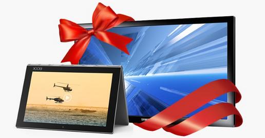 Новая акция от Microsoft и Buyon - телевизор в подарок за покупку хитового ноутбука