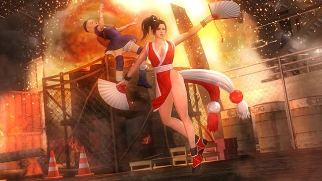 Dead or Alive 5: Last Round - опубликованы специальные арты по случаю восьми миллионов загрузок
