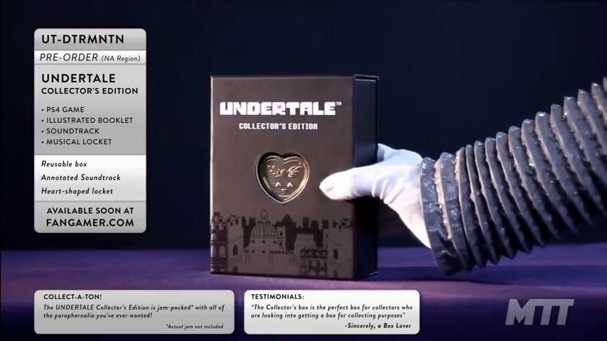 Undertale - коллекционка 1