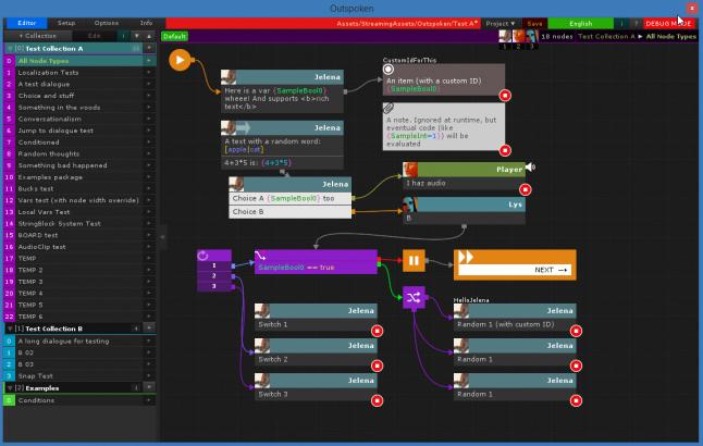 Диалоги в играх: Программные средства и дизайнерские идеи