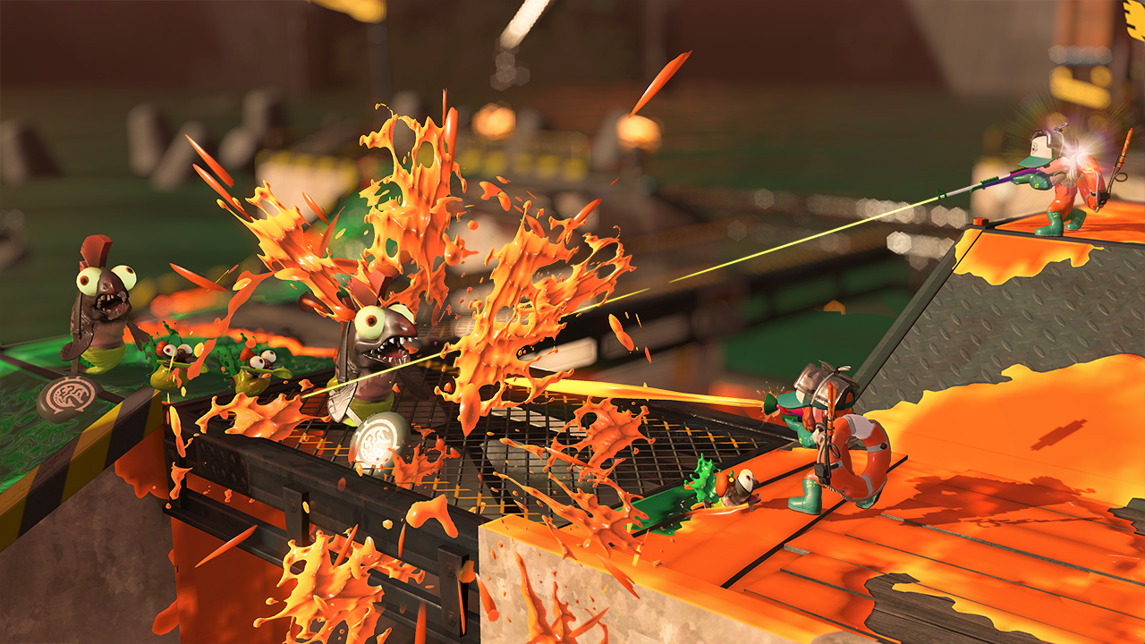 Разработчики Splatoon 2 говорят о киберспорте и сложности режима Salmon Run