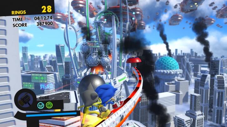 Sonic Forces обзор игры