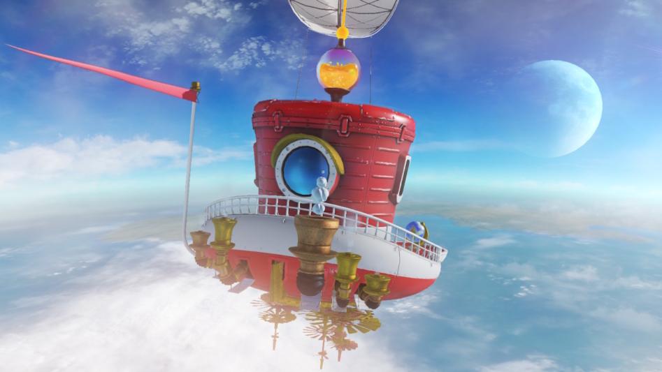 Держись за кепку крепко – обзор Super Mario Odyssey