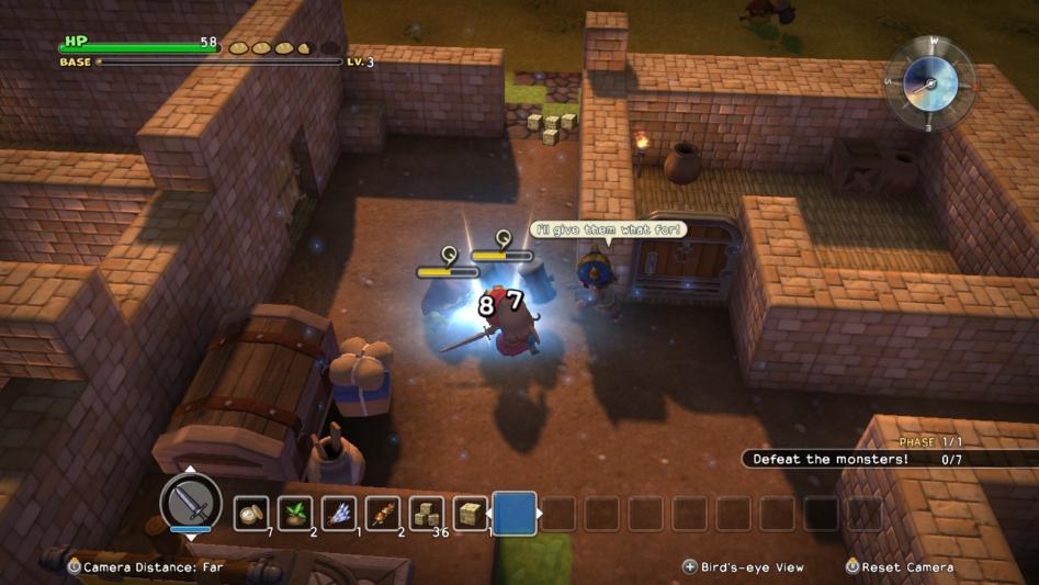 Обзор Dragon Quest Builders