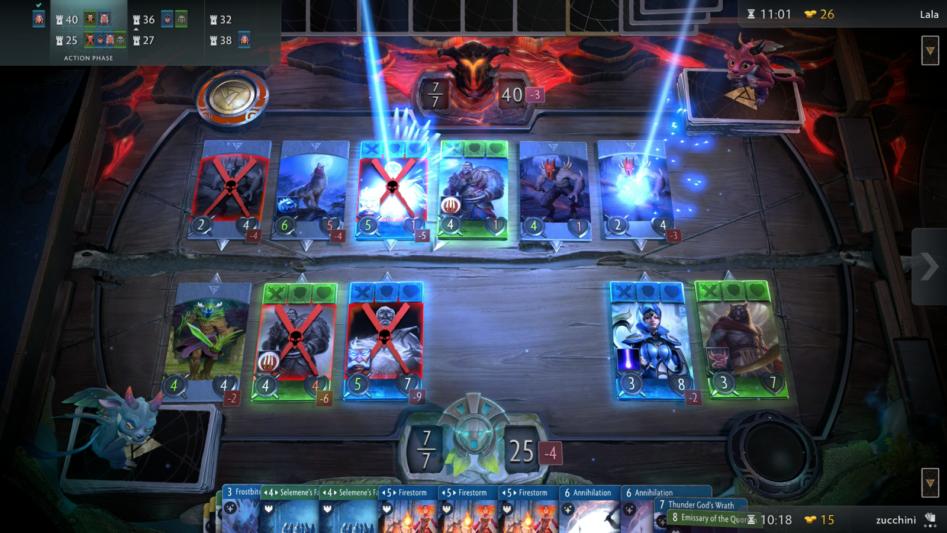 Artifact: Valve показала свою карточную игру по Dota 2