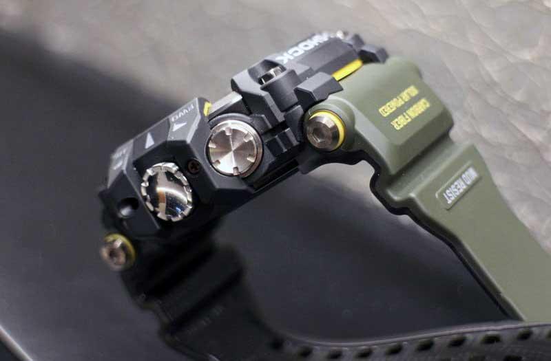 Управление Casio GPR-B1000 Rangeman