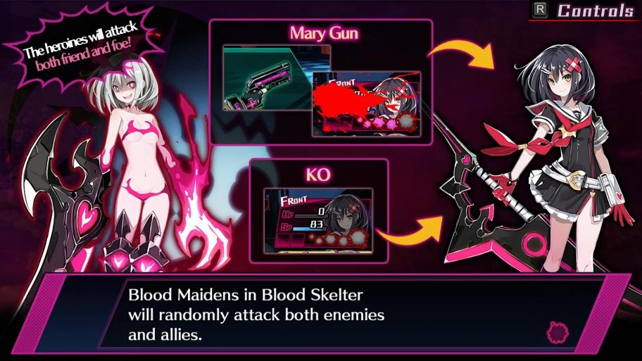 Mary Skelter: Nightmares обзор игры