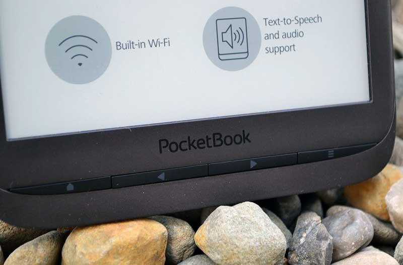 Кнопки управления PocketBook InkPad 3