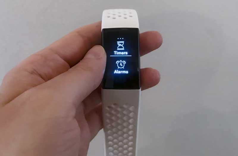 Отслеживание Fitbit Charge 3