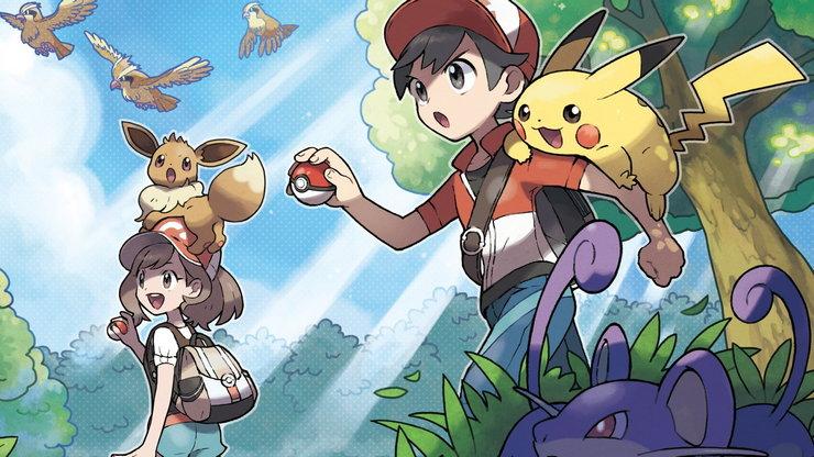 Впечатления: Super Smash Bros. Ultimate, Pokemon Let's Go, Gungrave VR, Tetris Effect