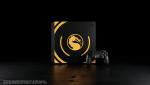 Утечка: Изображение лимитированной PS4 Pro в дизайне Mortal Kombat 11