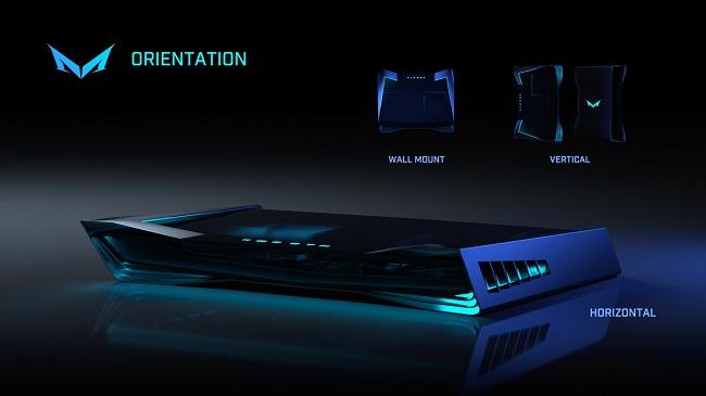 Slightly Mad показала новый концепт дизайна консоли Mad Box