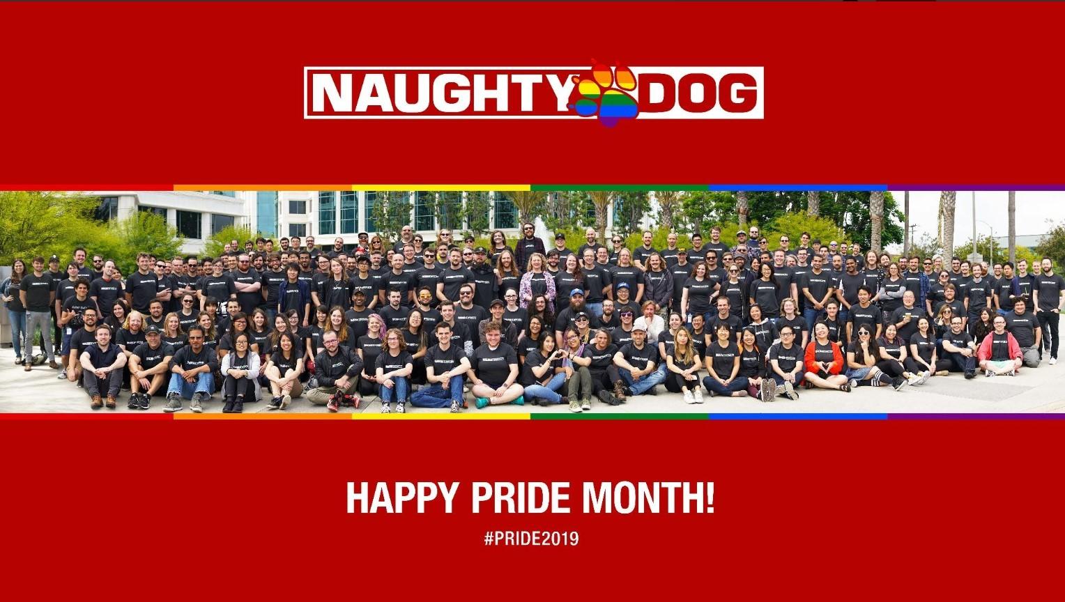 Naughty Dog, Microsoft, Bethesda, BioWare, Activision, Insomniac Games и другие игровые компании выражают поддержку ЛГБТ-сообществу в Месяц гордости