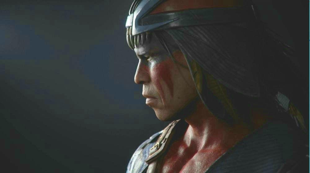 Эд Бун показал Ночного Волка из Mortal Kombat 11