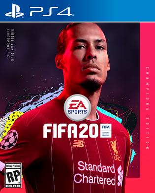 Electronic Arts представила обложки стандартного и расширенного изданий FIFA 20 - их украсили Эден Азар и Вирджил ван Дейк