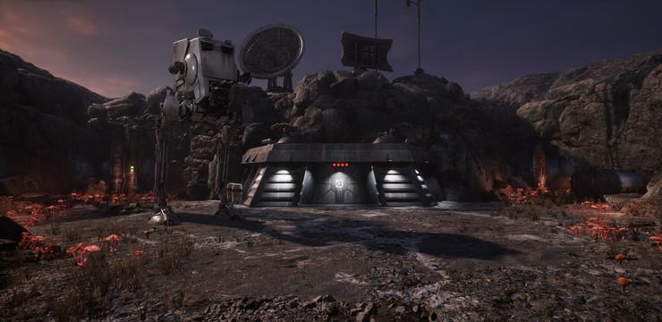 Промо-арт игры Star Wars: Dark Forces