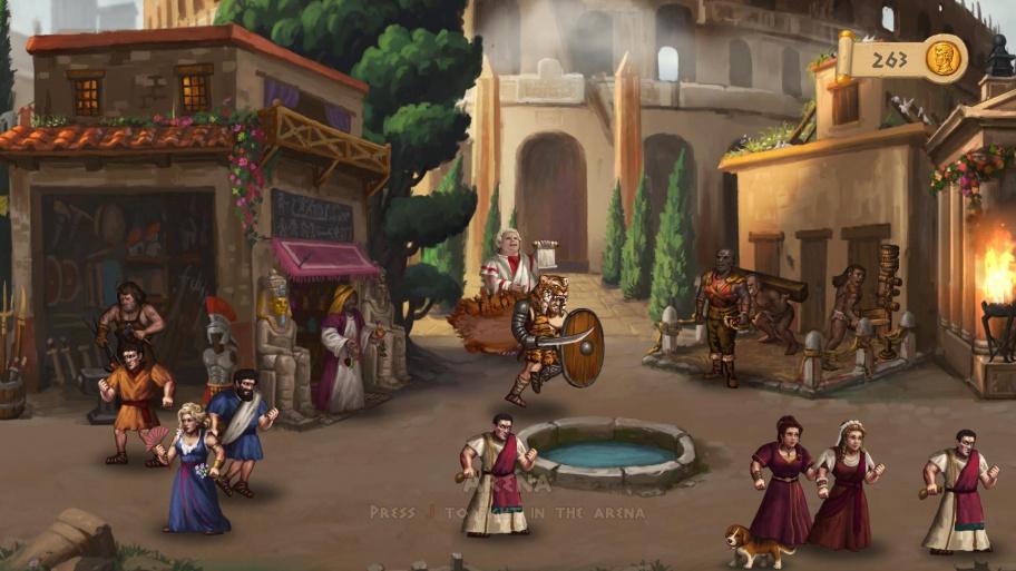 Story of a Gladiator обзор игры