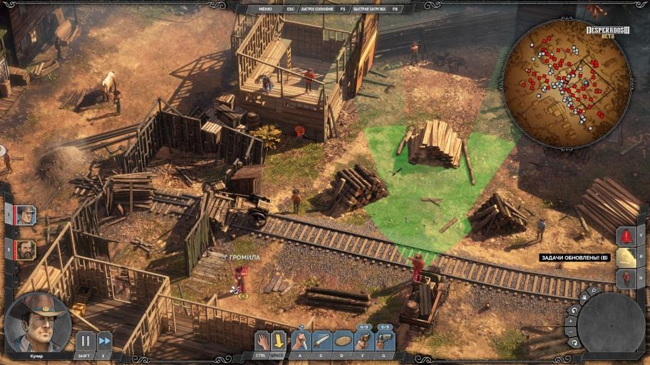 Desperados III превью игры