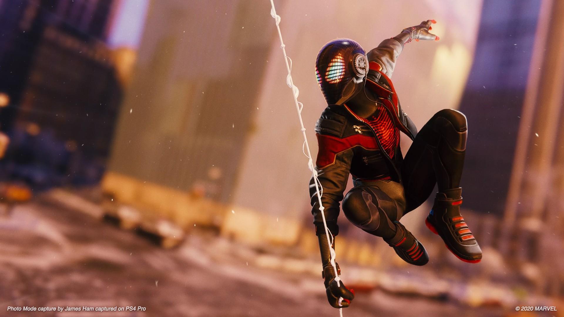 Человека-паука в рамочку и на стеночку: Insomniac Games представила улучшенный фоторежим для Marvel's Spider-Man: Miles Morales