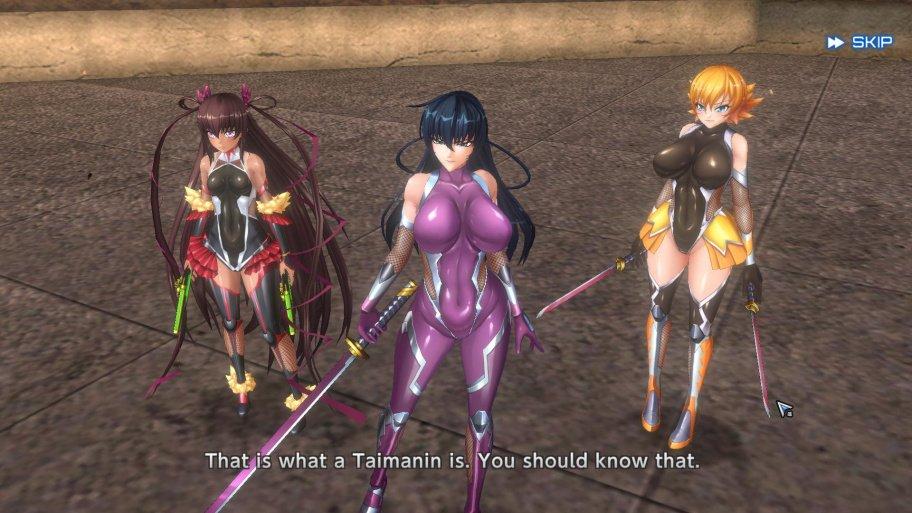 Action Taimanin обзор игры