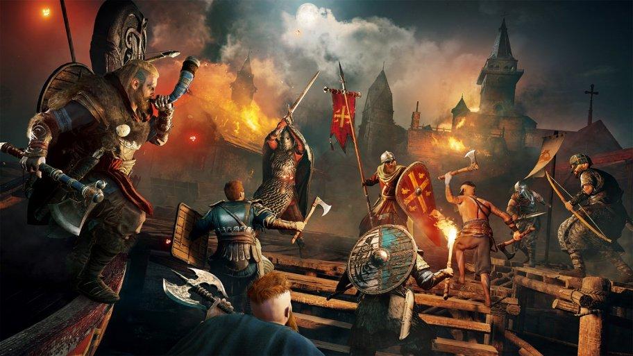 Assassin's Creed Valhalla превью игры